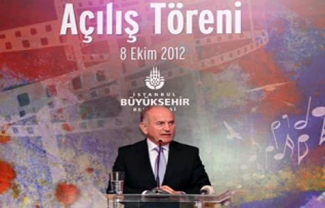 Kadir Topbaş, 2012-2013 Kültür Sanat Sezonu'nun açılışını yaptı!