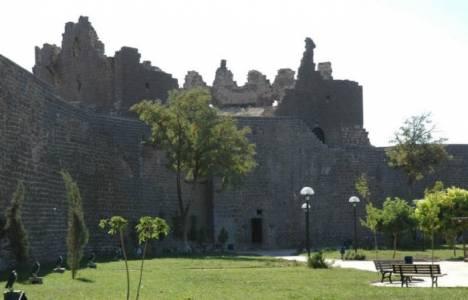 Diyarbakır'ın tarihi Dağkapı Burcu restore ediliyor!
