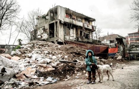 Süleymaniye'deki binalar mültecilere