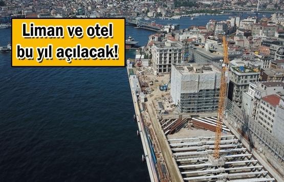 Galataport'un bölgesinde yatırımlar hızlandı!