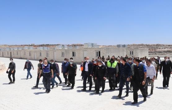 Süleyman Soylu: İdlib'de 1 yılda 35 bin evin nihayete erdirildi!