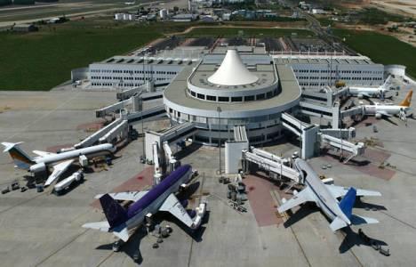 Antalya Havalimanı dün