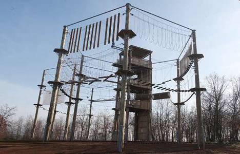 Yenikent Şehir Ormanı'ndaki eğitim kompleksinin inşaatı tamamlanıyor!