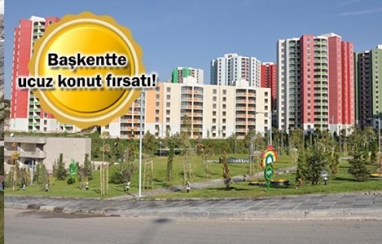 TOKİ Ankara'daki 1060 konutu satışa çıkardı!