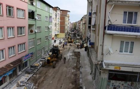 Malatya'da cadde ve sokak düzenleme çalışmaları düzenlendi!