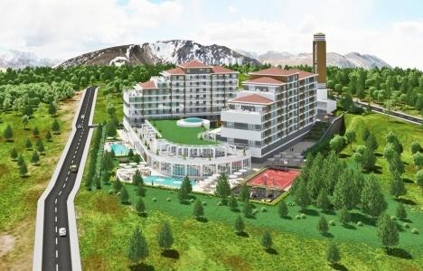 Sivas Termal Yaşam Merkezi Devremülkleri 2015'te tamamlanacak!