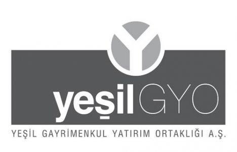 Yeşil GYO 9 aylık faaliyet raporunu yayınladı!