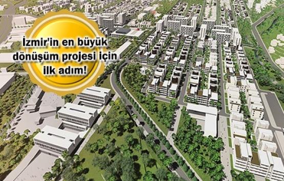 İzmir Gaziemir Aktepe-Emrez dönüşüm ihalesi 23 Mayıs'ta!