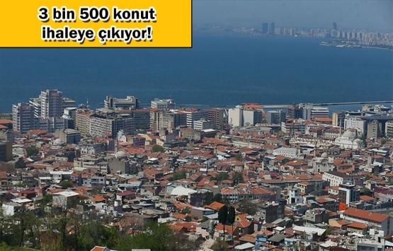 İzmir kentsel dönüşüm projesinde çalışmalar tam gaz!