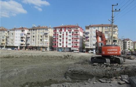 Tokat Turhal'da kapalı pazaryeri inşa ediliyor!