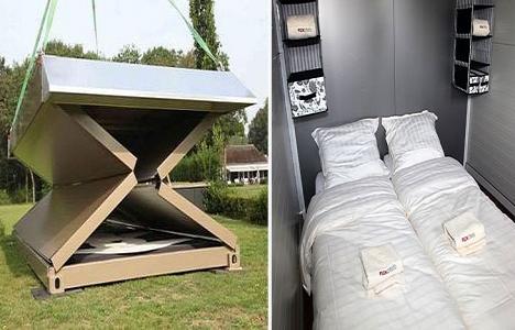 Flex katlanabilir otel konsepti geliştirdi!
