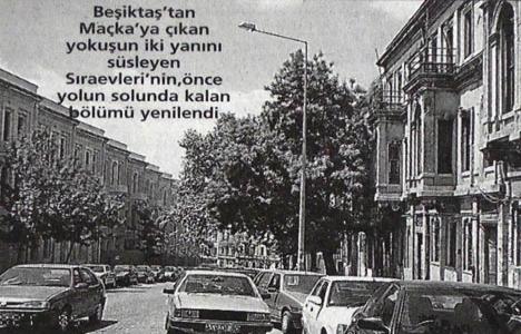 1998 yılında Akaretler