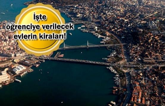 İstanbul'da üniversitelere yakın semtlerdeki evlerin kiraları!