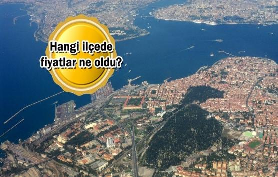 İstanbul'da ev fiyatlarının artış haritası!
