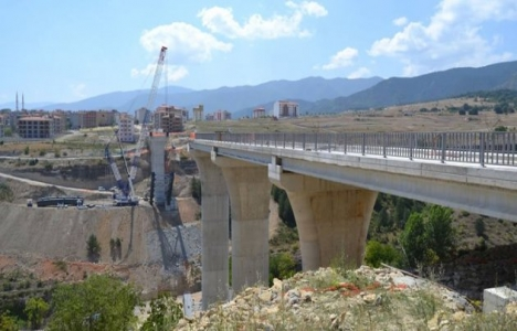 Karabük Kanyon Köprü inşaatının yüzde 70'i tamamlandı!