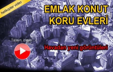 Emlak Konut Koru Evleri Sarıyer'in havadan videosu!