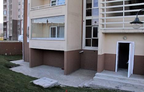 TOKİ'de kapıcı daireleri sığınağa dönüştürüldü!