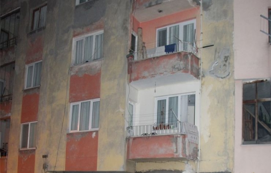 Trabzon'da 4 katlı