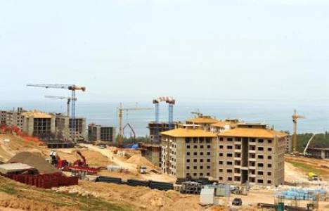Nevşehir Ürgüp'te TOKİ