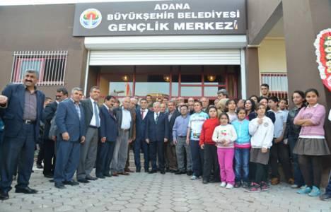 Adana Büyükşehir Belediyesi SODES Gençlik Merkezi açıldı!