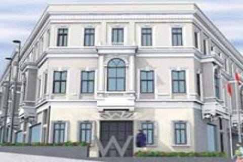 Asırlık bina, 2.5 milyon dolarlık rezidansa dönüştü