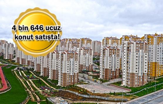 TOKİ'den 21 ilde 304 TL taksitle konut fırsatı!