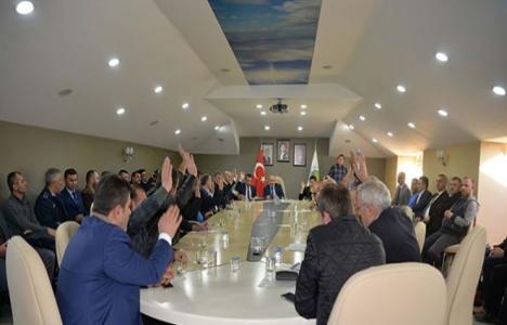 Hendek Belediyesi Şubat ayı olağan toplantısı yapıldı!