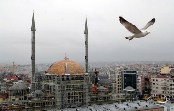 Taksim Camii'nin son hali görüntülendi!