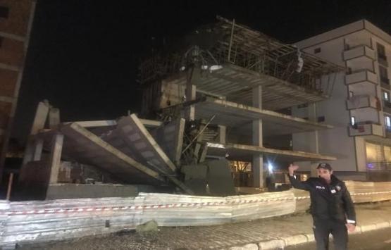Sultanbeyli'de 4 katlı inşaat çöktü!