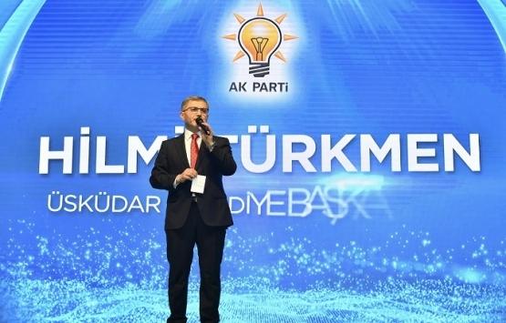 Hilmi Türkmen'den Üsküdar'a