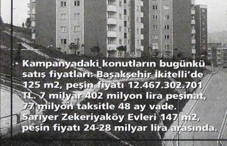 1999 yılında Kiptaş,