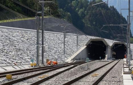 57 kilometrelik Gothard tüneli 2016'da açılacak!