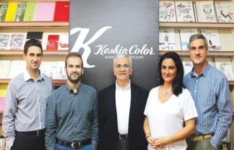 Keskin Color yeni fabrika yatırımı için düğmeye bastı!