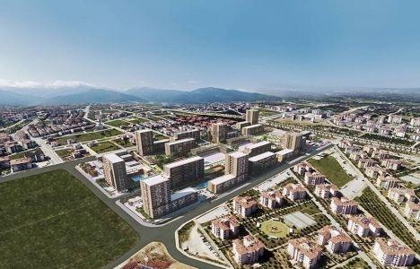 Evora Denizli'de toplam bağımsız bölüm sayısı 1579 oldu!