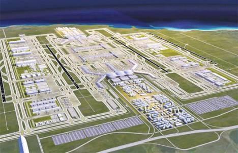 3. Havalimanı inşaatı fiyatları ikiye katladı!