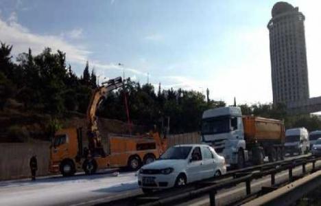 TEM İstoç bağlantı yolu 15 gün trafiğe kapanacak mı?
