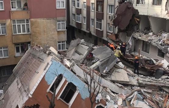 İstanbul Valiliği'nden Bahçelievler'deki çöken binayla ilgili açıklama!
