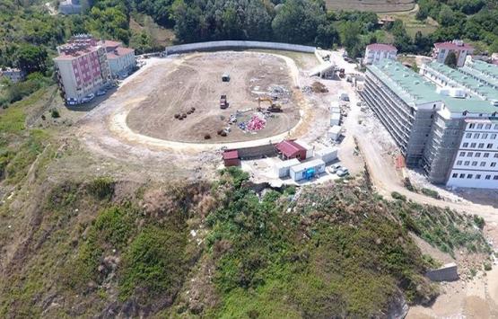 Sinop Dokuzoğlu Stadı'nın yıkımı tamamlanıyor!