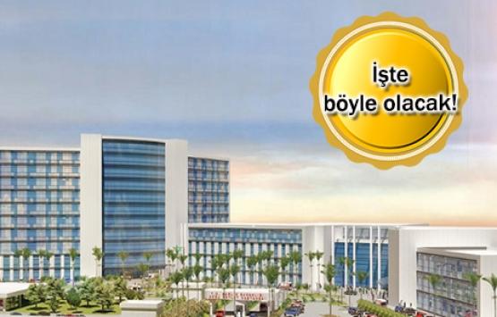 Antalya'ya 5 yıldızlı devlet hastanesi geliyor!