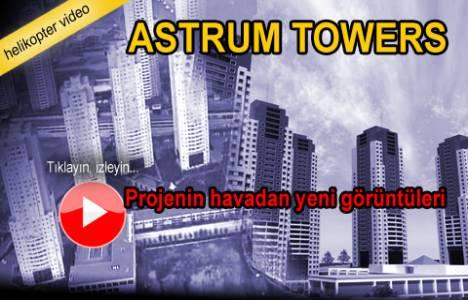Astrum Towers'ın havadan