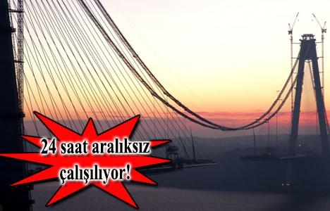 3. Boğaz Köprüsü'nde
