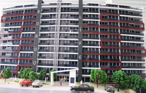 Ankara Bordo Life Residence' da daireler 140 bin TL' den başlıyor!