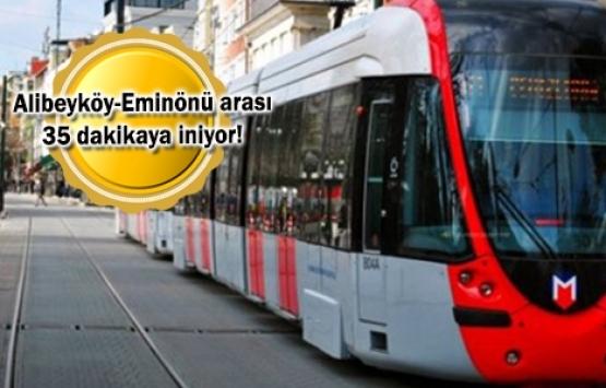 Eminönü Alibeyköy Tramvay