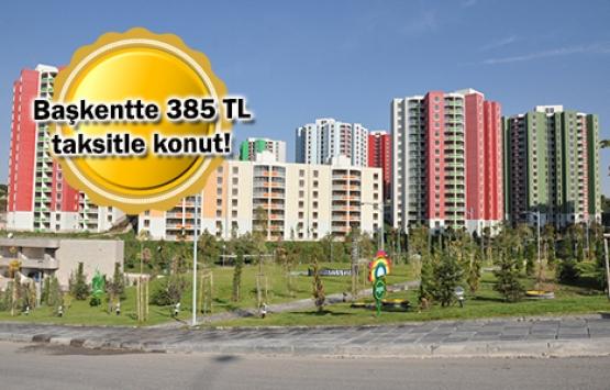 TOKİ Ankara'daki 1.489