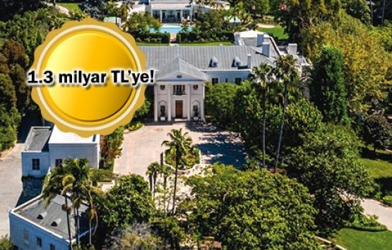 ABD'nin en pahalı evi satışa çıktı!