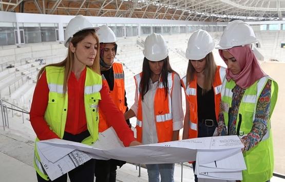 Balçova Belediyesi'nden inşaat mühendisi kadınlara destek!