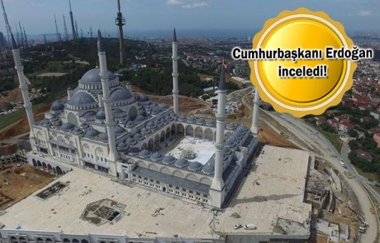 Çamlıca Camii'nde son