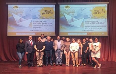 Ytong Mimari Fikir Yarışması'nda 5 proje ödüllendirildi!