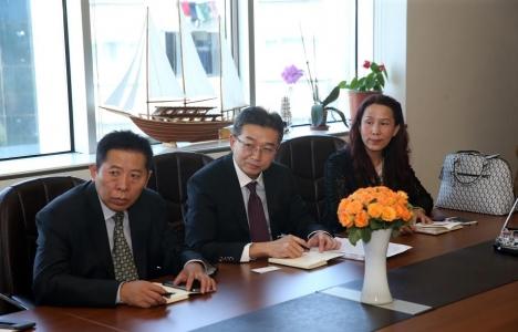 Çinli yatırımcılar Esenler'deki dönüşüm hakkında bilgi aldı!