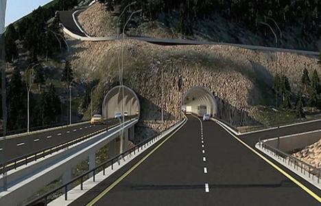 Zigana Tüneli Projesi'nin